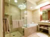 Luxury hotel bathroom